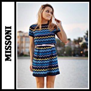 Missoni Chevron Knit Dress NWOT